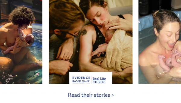 Evidence Based Birth Water Stories