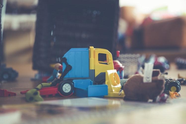 Kids toys minimalism