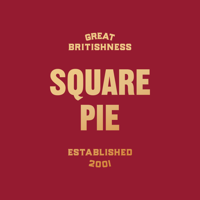 Square Pie - The original Gourmet Pie company, founded in 2001, it started life on a market stall and grew into the leading brand that it has become today. Widely available throughout the UK.