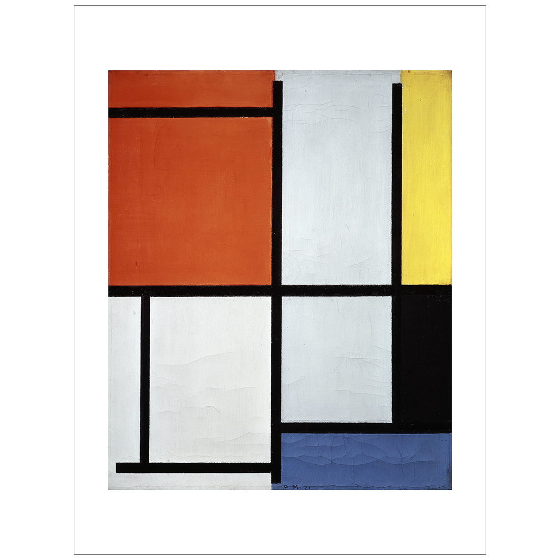 Mondrian - Composition 1921