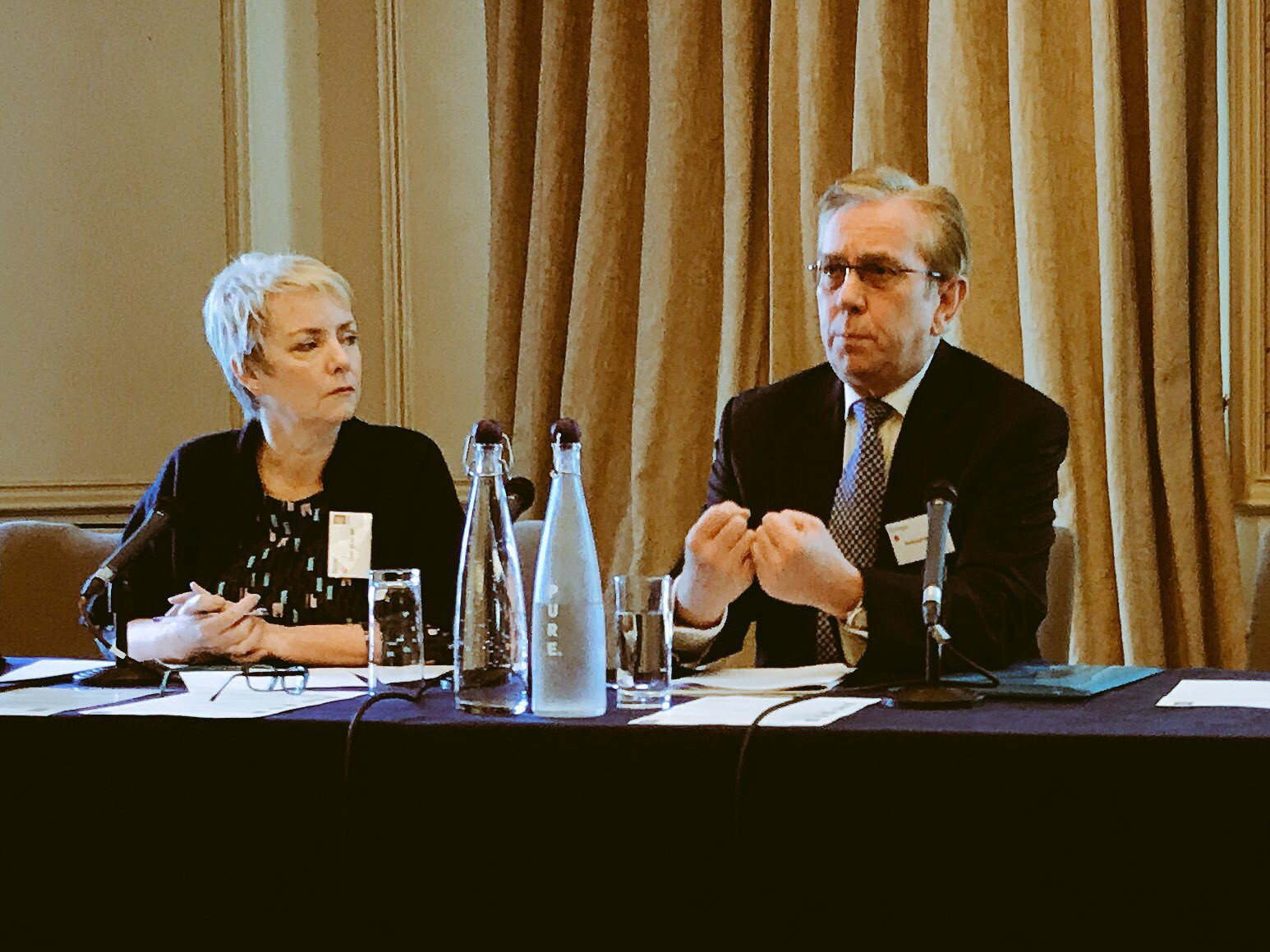 Sir Robert Naylor introduces UK Govt reaction to his report at the Westminster Forum 27th February 2018