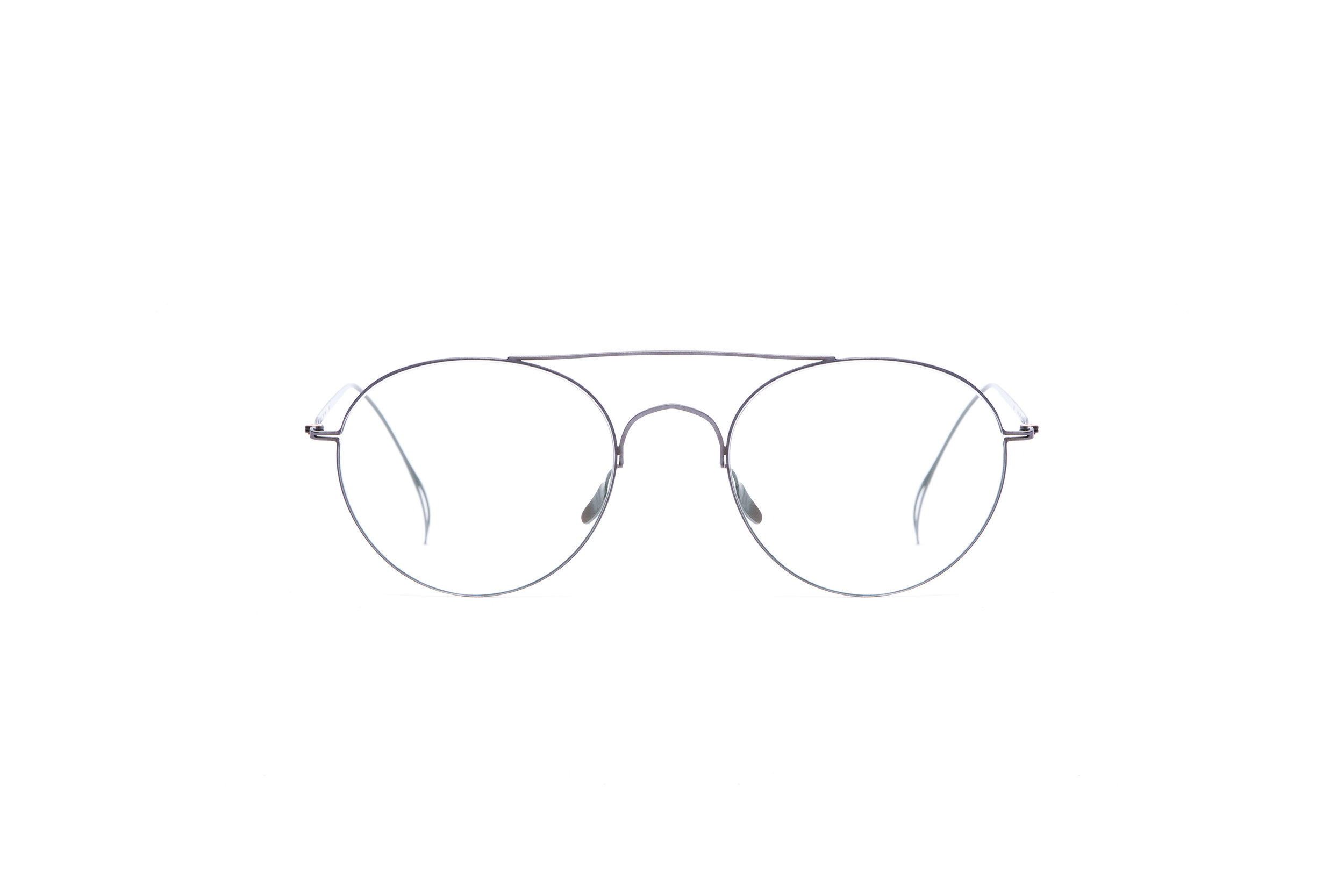 haffmans_neumeister_fawcett_gunmetal_clear_ultralight_eyeglasses_front_102461.jpg