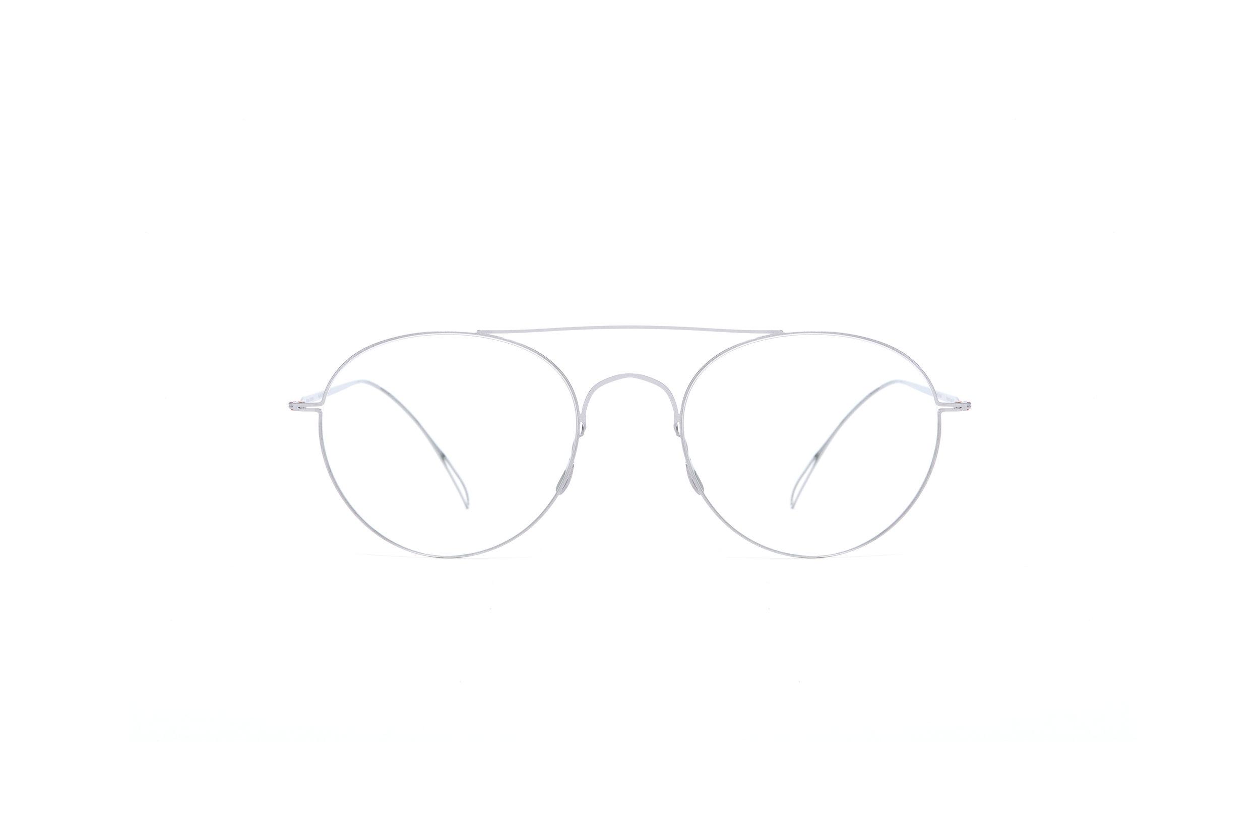 haffmans_neumeister_fawcett_silver_clear_ultralight_eyeglasses_front_102458.jpg