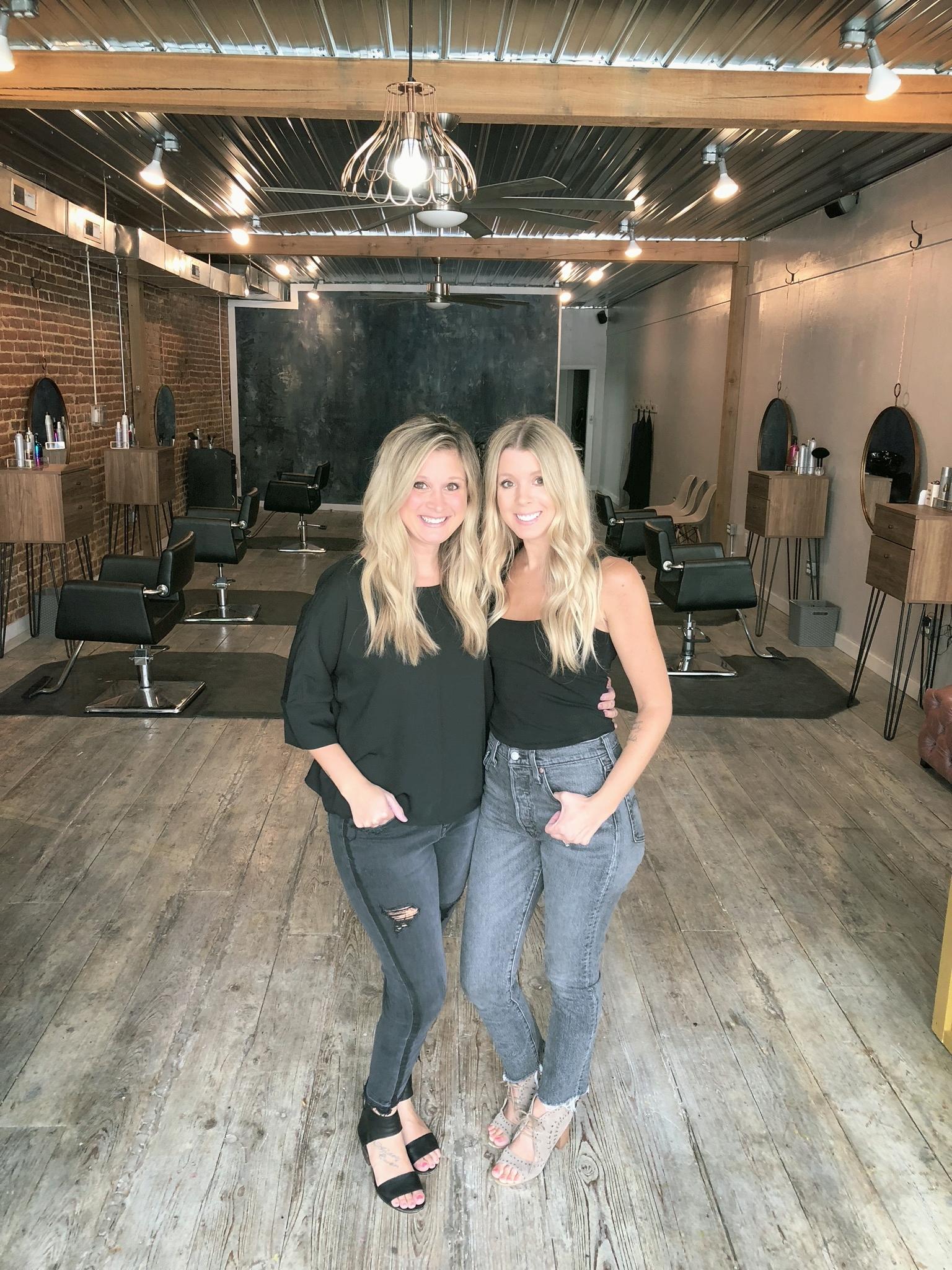 Kayla & Falonn, co-owners Revolve Hair Studios
