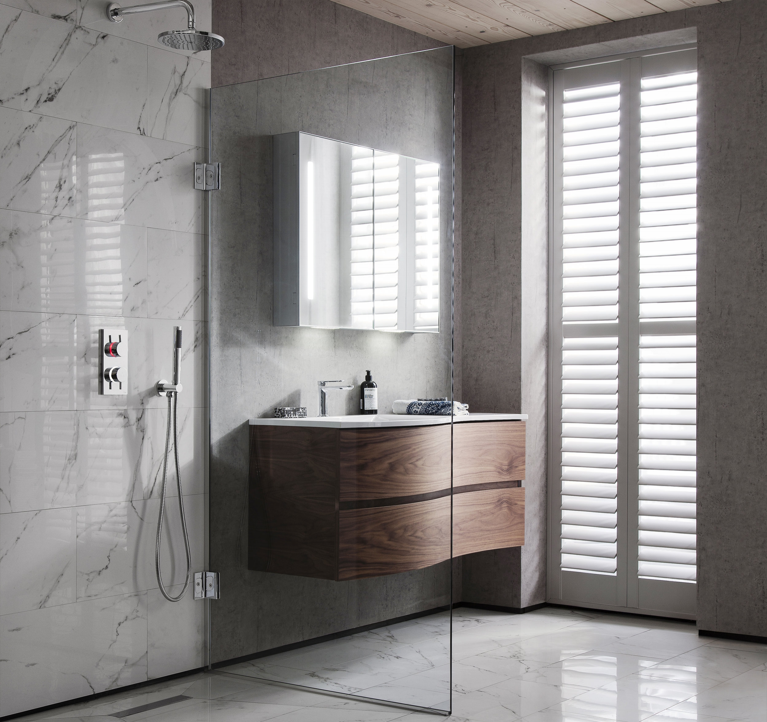 CROSSWATER - For over 20 years Crosswater has been celebrated as the leading supplier of premium products for the bathroom. Throughout those two decades we have honed our expertise, perfected our designs and broadened our product offering - not to mention winning a few awards along the way, bringing you superior quality and unrivaled performance across every aspect of bathroom design and stunning brassware.Visit the Crosswater Website