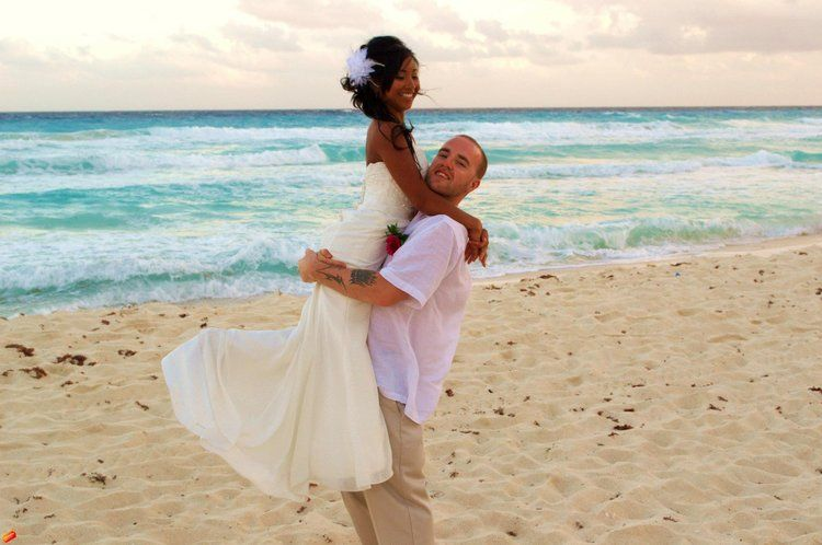Our wedding in Cancun, Mexico