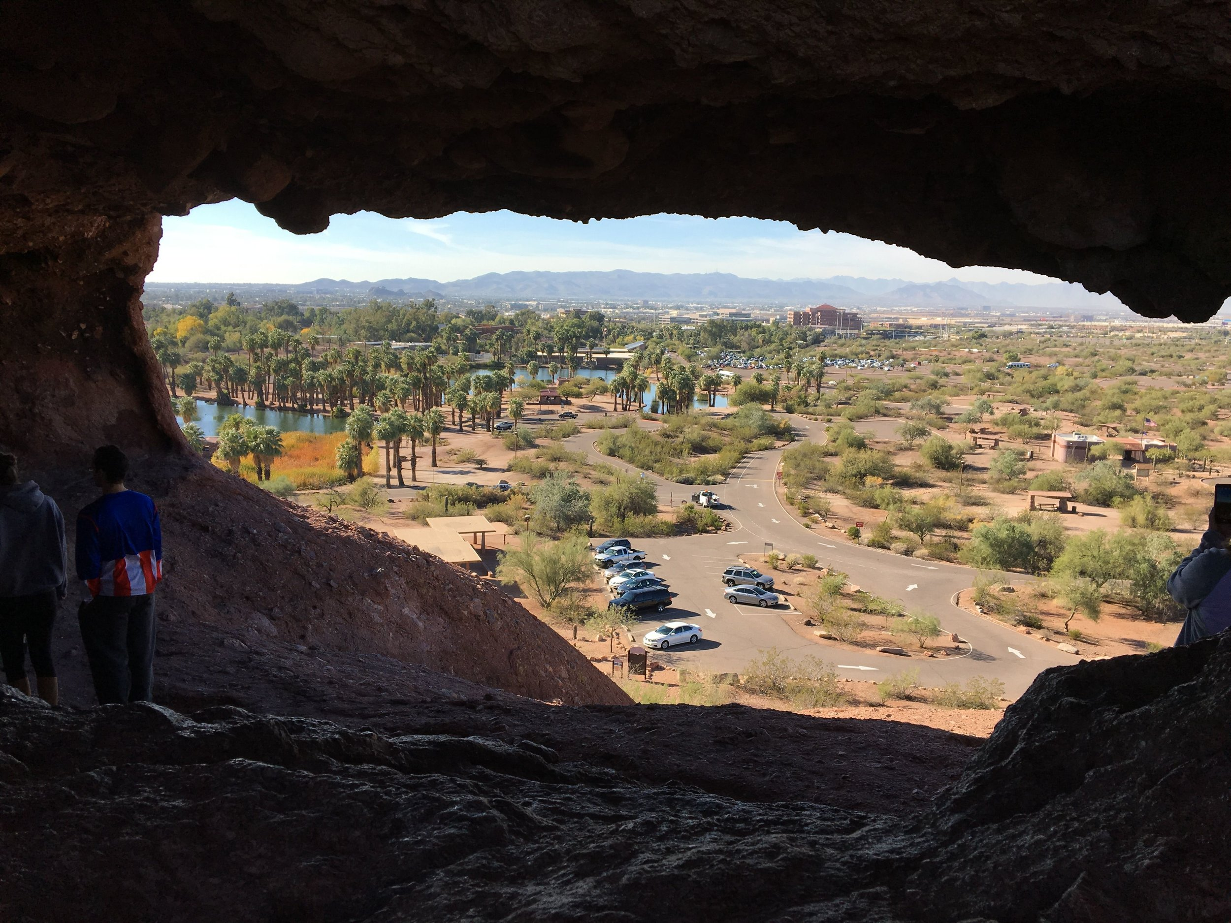 Hole-in-the-Rock in Papago Park, Phoenix, Arizona
