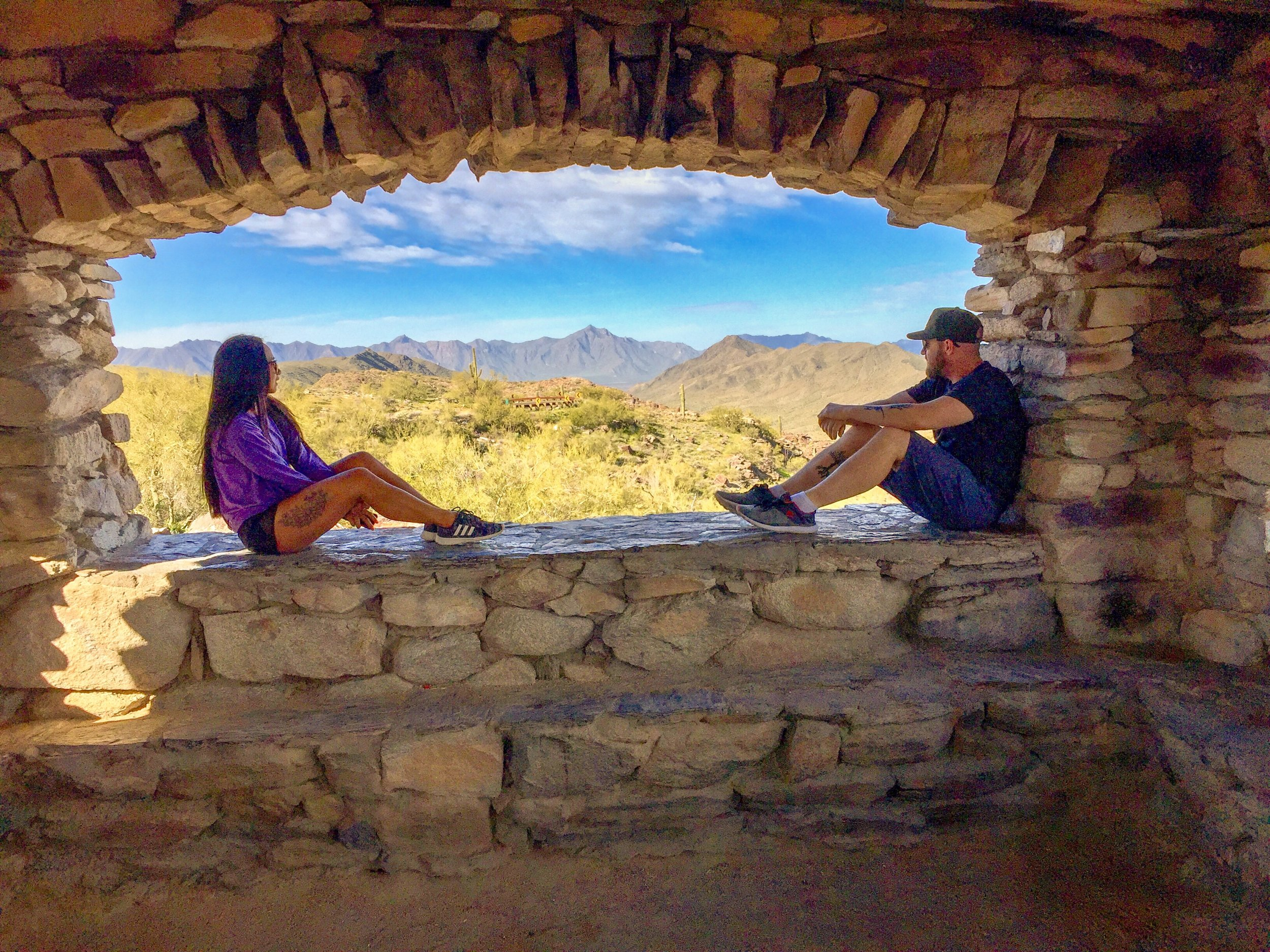 Dobbins Lookout at South Mountain, Phoenix, Arizona