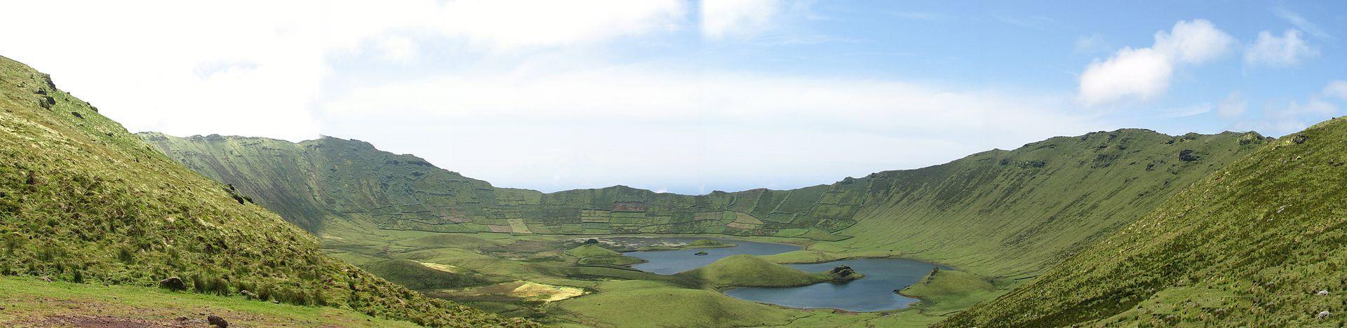 Caldeirão Do Corvo, Azores, Portugal