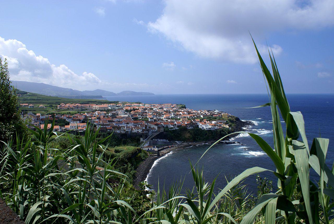 Village of Maia, Azores, Portugal