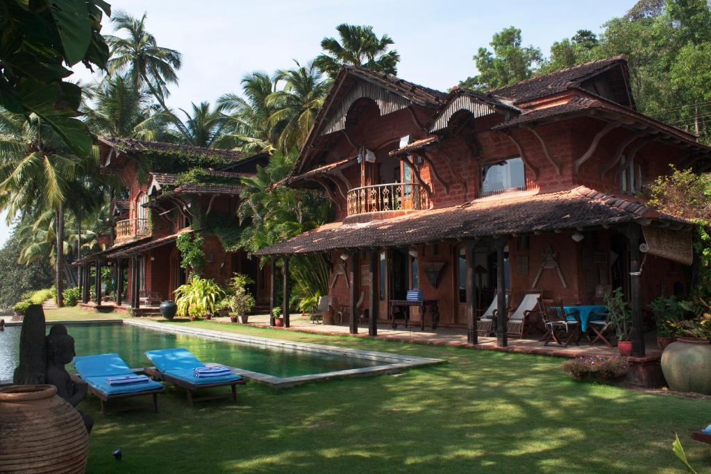 Room exteriors at Ahilya By The Sea, Goa, India