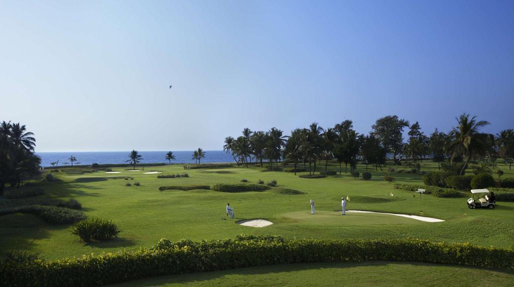 Golf Course at the Leela Goa, India