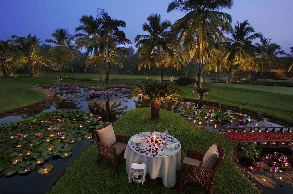 Private dinner at The Leela Goa, India
