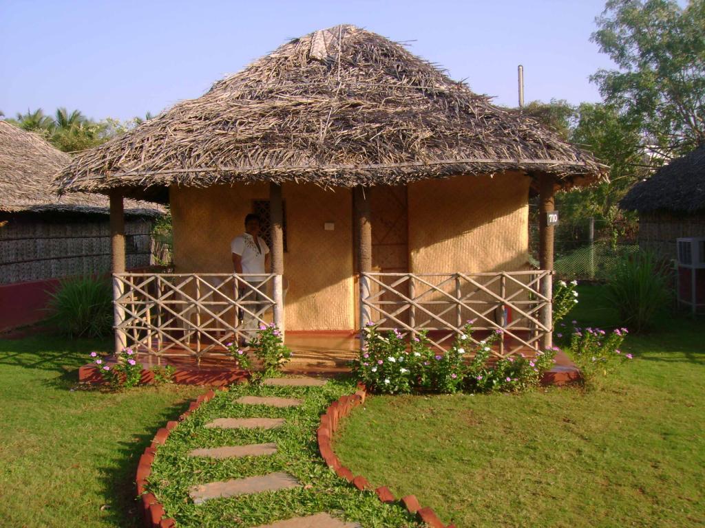 Beach hut Bogmallo Beach Resort
