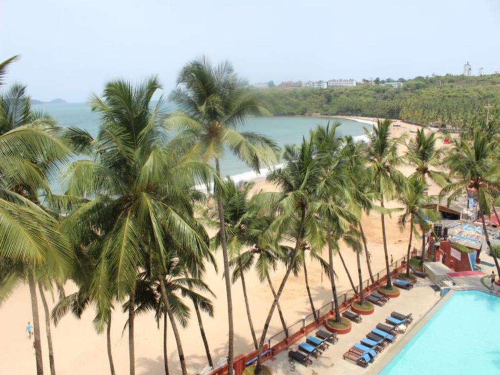 Beach at Bogmallo Beach Resort, Goa India