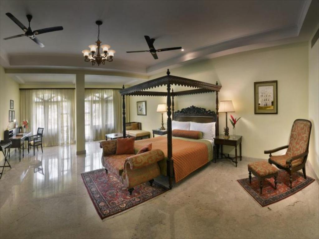 The room at LaLiT Golf & Spa Resort, Goa, India