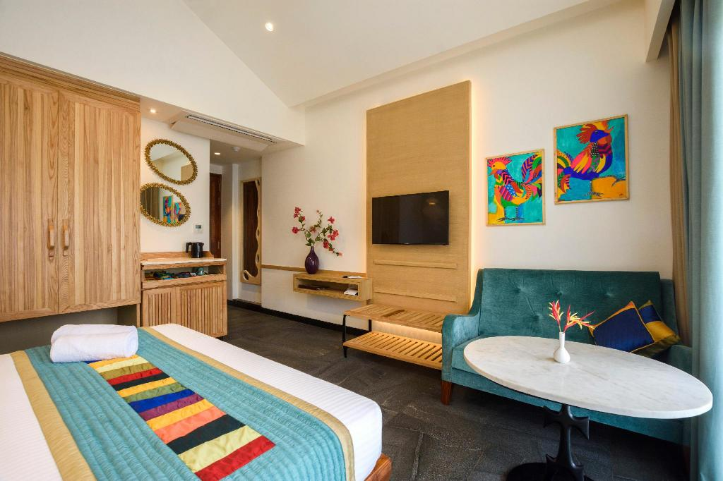 Room at Beleza By The Beach Resort, Goa, India