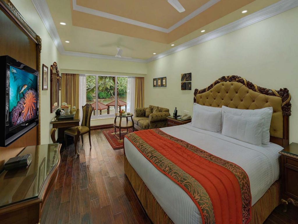 A room at Mayfair Hideaway Spa Resort, Goa, India