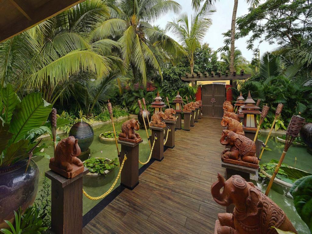 Garden at Mayfair Hideaway Spa Resort, Goa, India