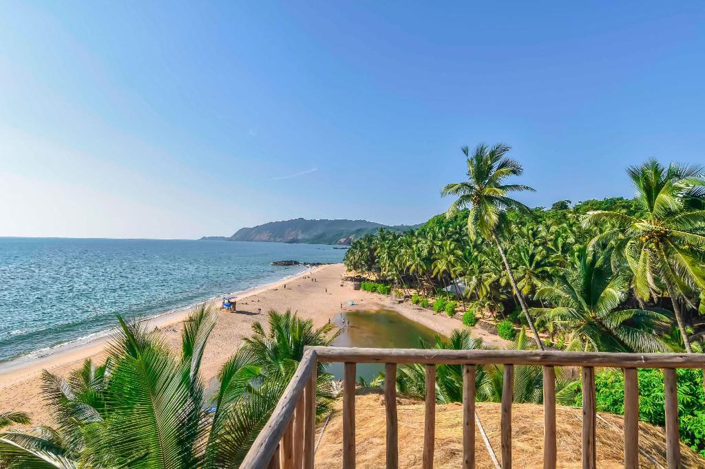 Room views at Dwarka Boutique Beach Resort, Goa, India