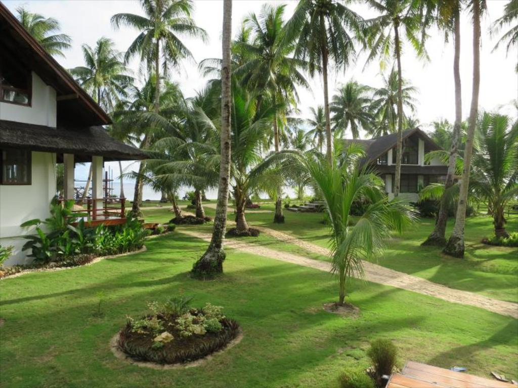 Hotel grounds at Sandy Feet Siargao