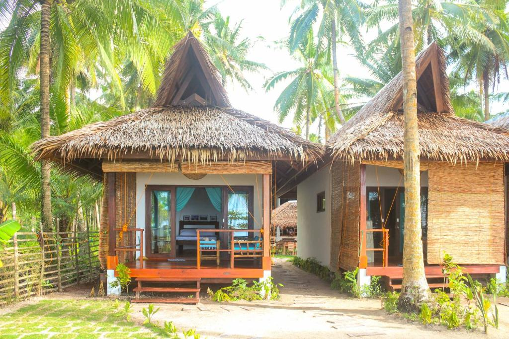 Cabanas at Surfing Carabao Beach House, Philippines