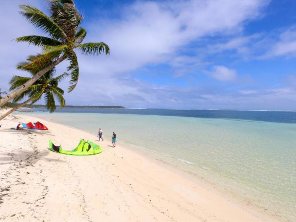Beach at Isla Cabana Resort, Siargao, Philippines