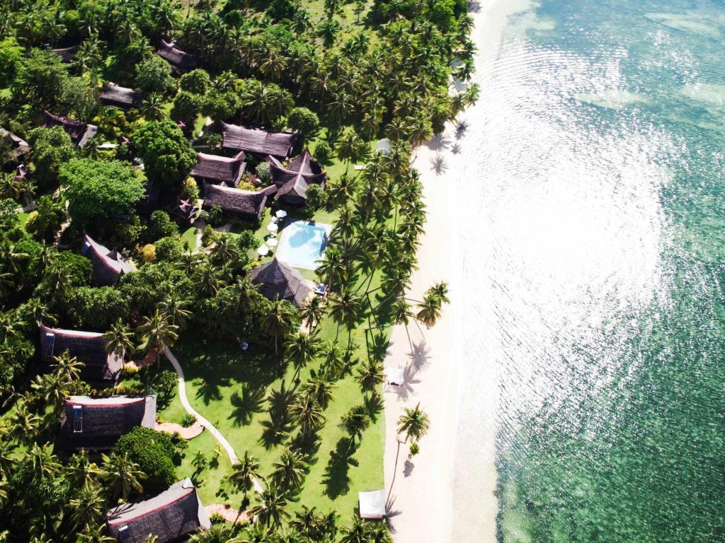 Beach at Dedon lsland Resort, Siargao, Philippines