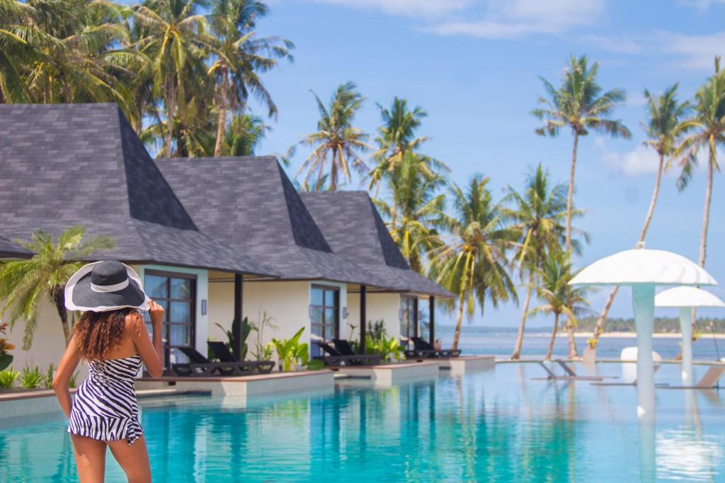 Pool at Siargao Bleu Resort and Spa, Philippines