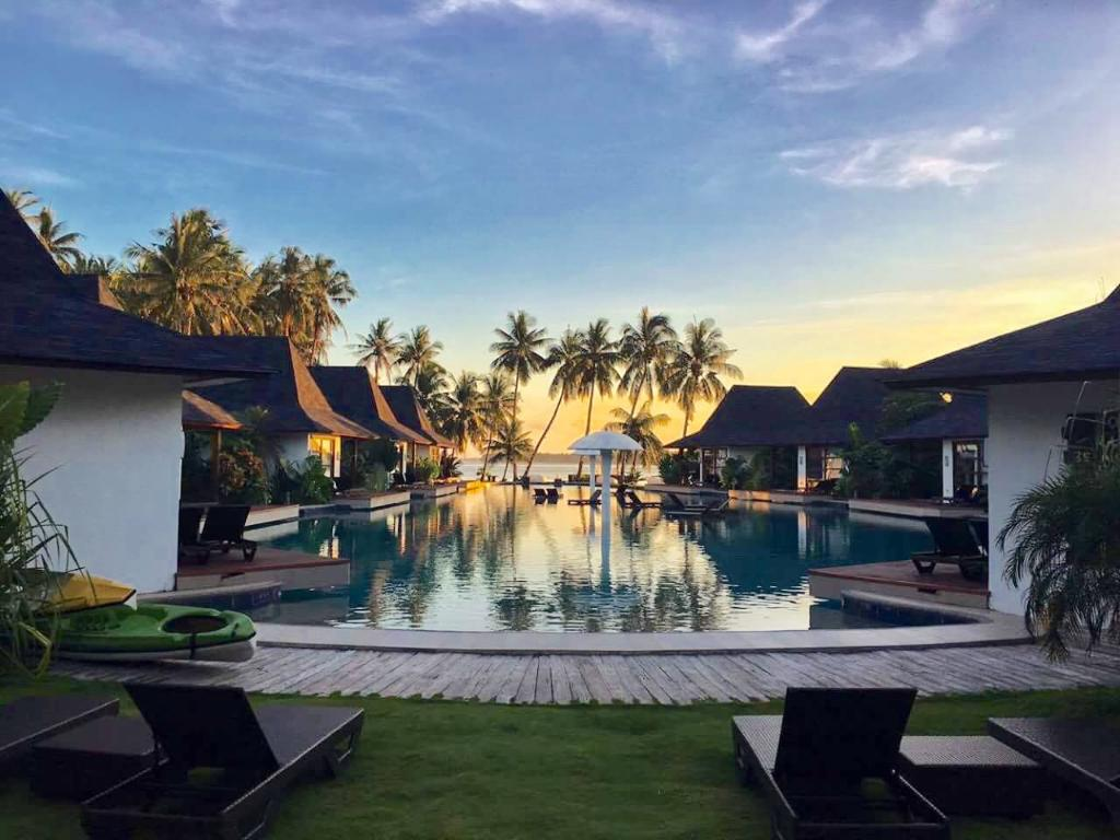 Pool at Siargao Resort and Spa, Philippines