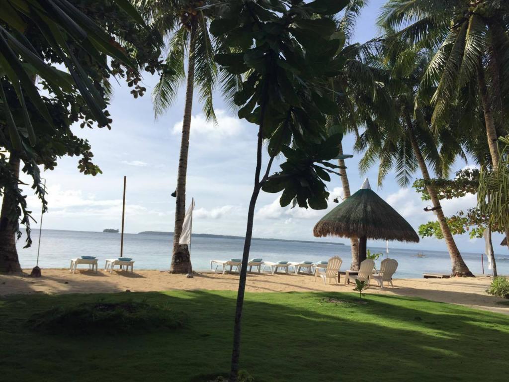 Beach at Chernicole Beach Resort, Siargao