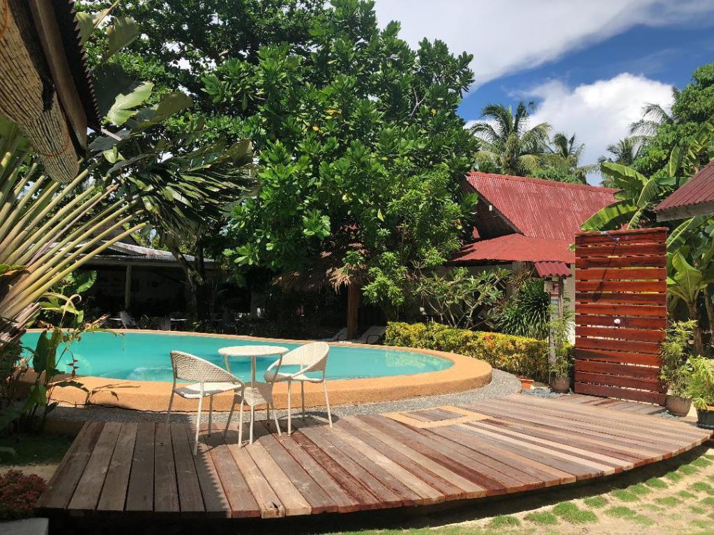 Pool at Chernicole Beach Resort, Siargao