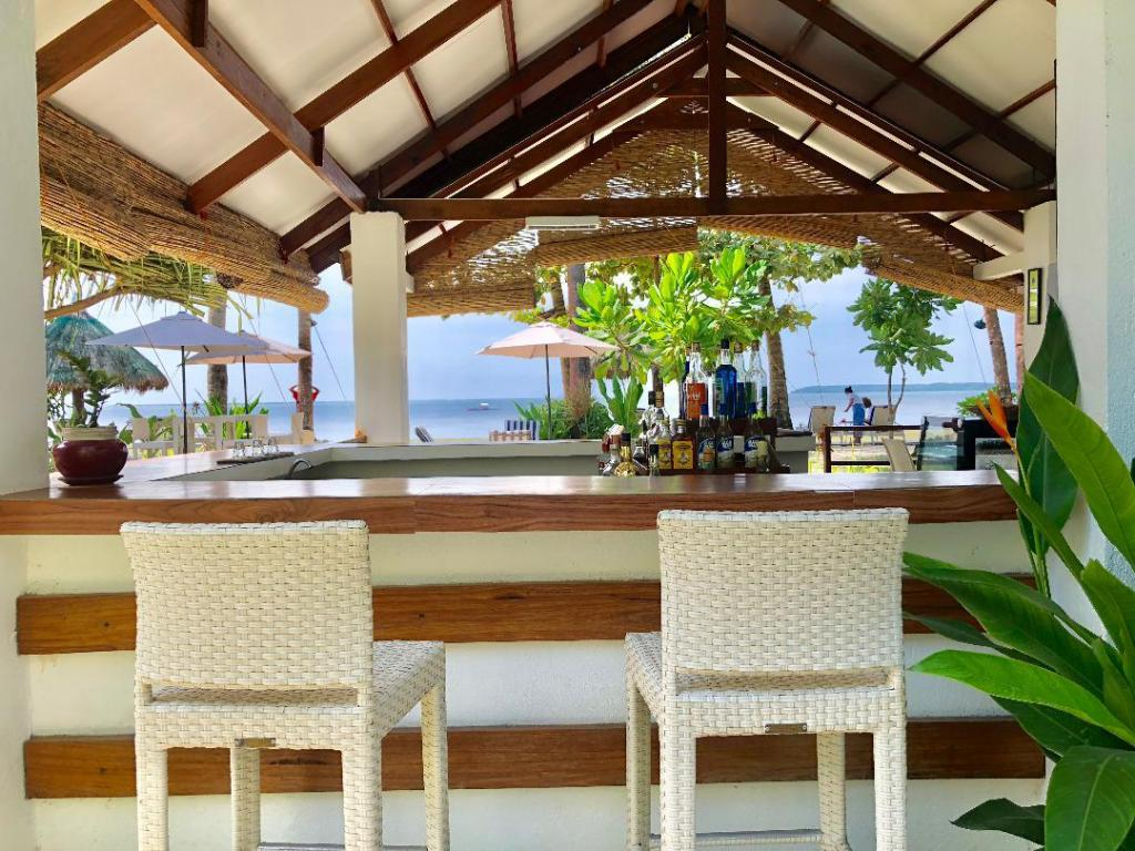 Bar at Chernicole Beach Resort, Siargao