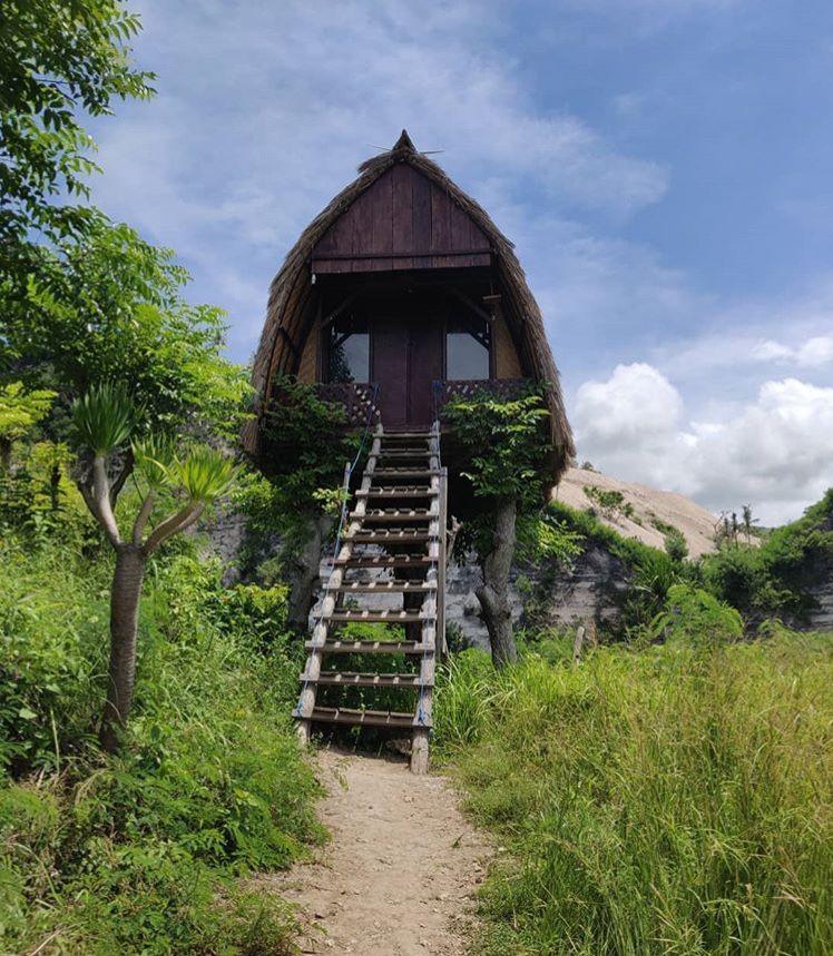 Tree house, Nusa Penida Island, Indonesia