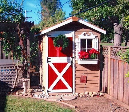 16 Beautiful DIY Garden Sheds -