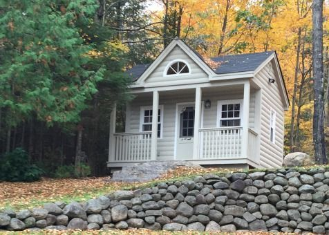 A Canmore tiny house in Papineau Lake, Ontario