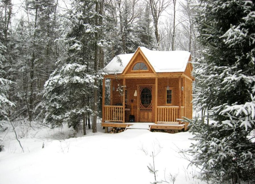 A Canmore tiny house from King City, Ontario