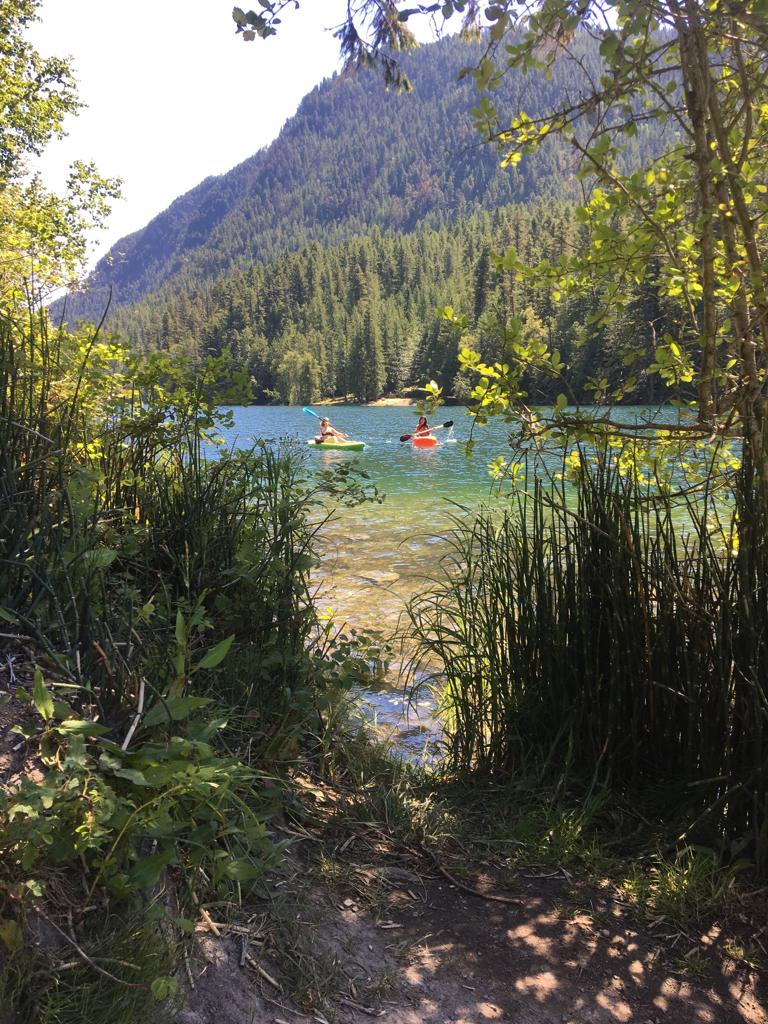 Echo Lake Provincial Park, Okanagan Valley, British Columbia, Canada