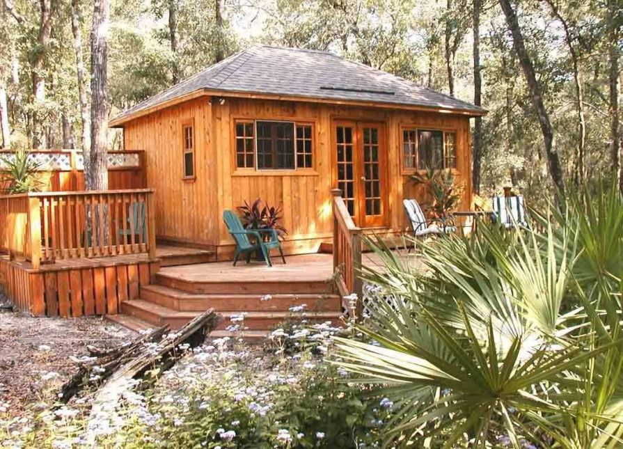 Summerwood Sonoma cabin tiny house Waycross, Georgia