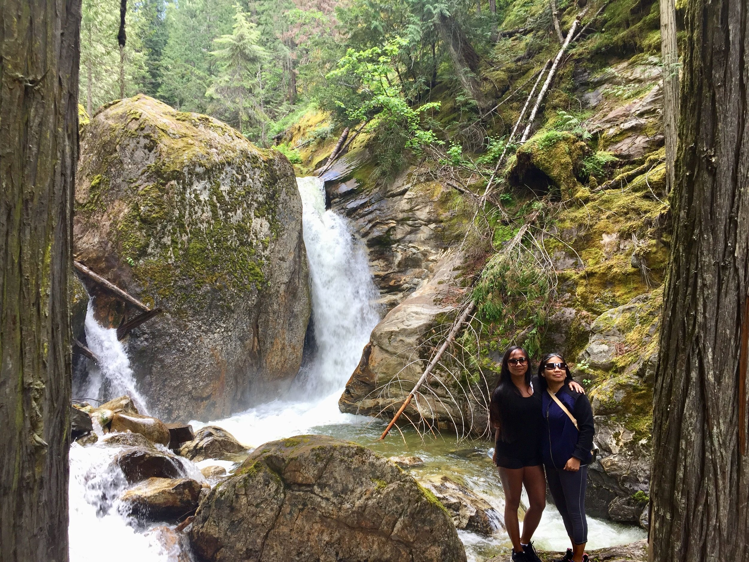 Sicamous Creek Falls, British Columbia, Canada