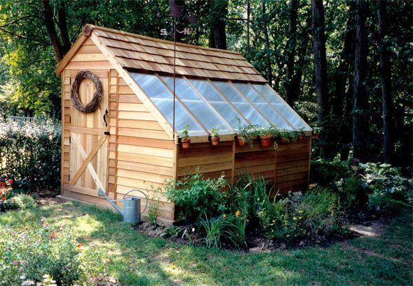 20 Awesome Backyard DIY Greenhouses -