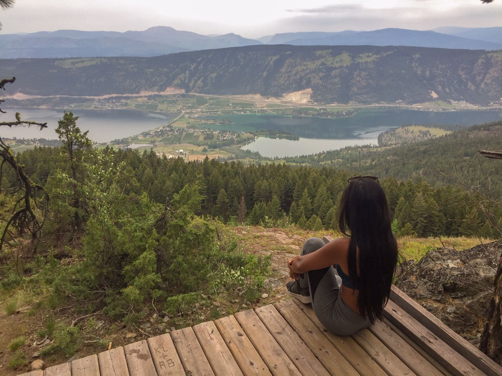Oyama Lookout, Lake Country