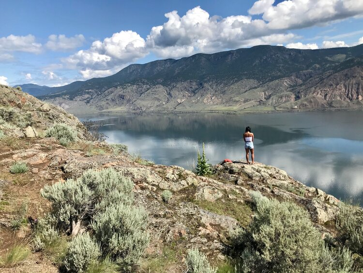 Kamloops Lake View Point British Columbia Canada Exploratory Glory Travel Blog Tinyhouse Living Travel Deals