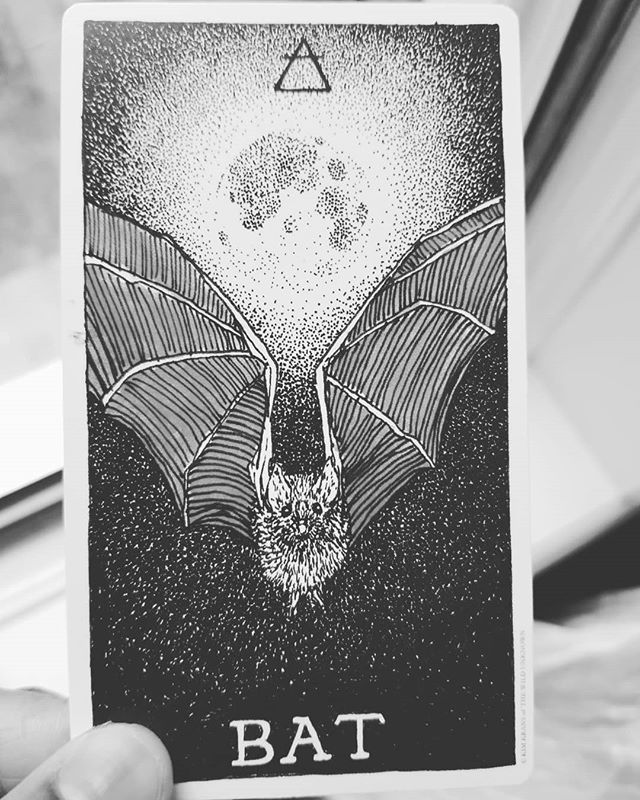 """#Transformation (this card legit jumped out of the deck while I was shuffling) . . . I feel it. It's like a second spiritual awakening cycle is culminating this year. I started to feel a shift 2 years ago and the past 6 months have been all about shifting my perspective, MY REACTIONS (forever working on calming my turnt aries moon) and above all else FINALLY trying to learn lessons from reoccurring triggering situations. This week I had some real """"a ha"""" moments about how I show up for all people in my life from my partner to my peers to random people who show up to take my classes. THE SAME THEMES KEEP COMING UP and finally this week I started to really notice what all of these people are trying to teach me about meeting needs and getting needs met. . . . I thought once my Saturn Return/spiritual awakening was over it would only be smooth sailing from there on out. Nope. That shit was JUST the beginning. The amount of shadow work I've been going through since the August eclipse has brought me right back to my late 20's but this time I'm much more aware of how to check myself. . . . A couple of months ago I saw my name and exact birth date in print in a magazine ad. A sign of some sort?  It feels as if a cycle is culminating. 3+7=9 completion, wishes fulfilled, end of a cycle and beginning of a new one. This year will bring 38 and maybe an entirely new perspective on spiritual growth and hopefully I'll finally calm this turnt aries moon . . .@the_wild_unknown"""