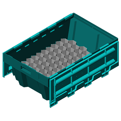The revolutionary Traystor® Crate gives the seafood industry the ability to control the handling, quality, and monitoring of their live product from the fishing boat to end consumer.