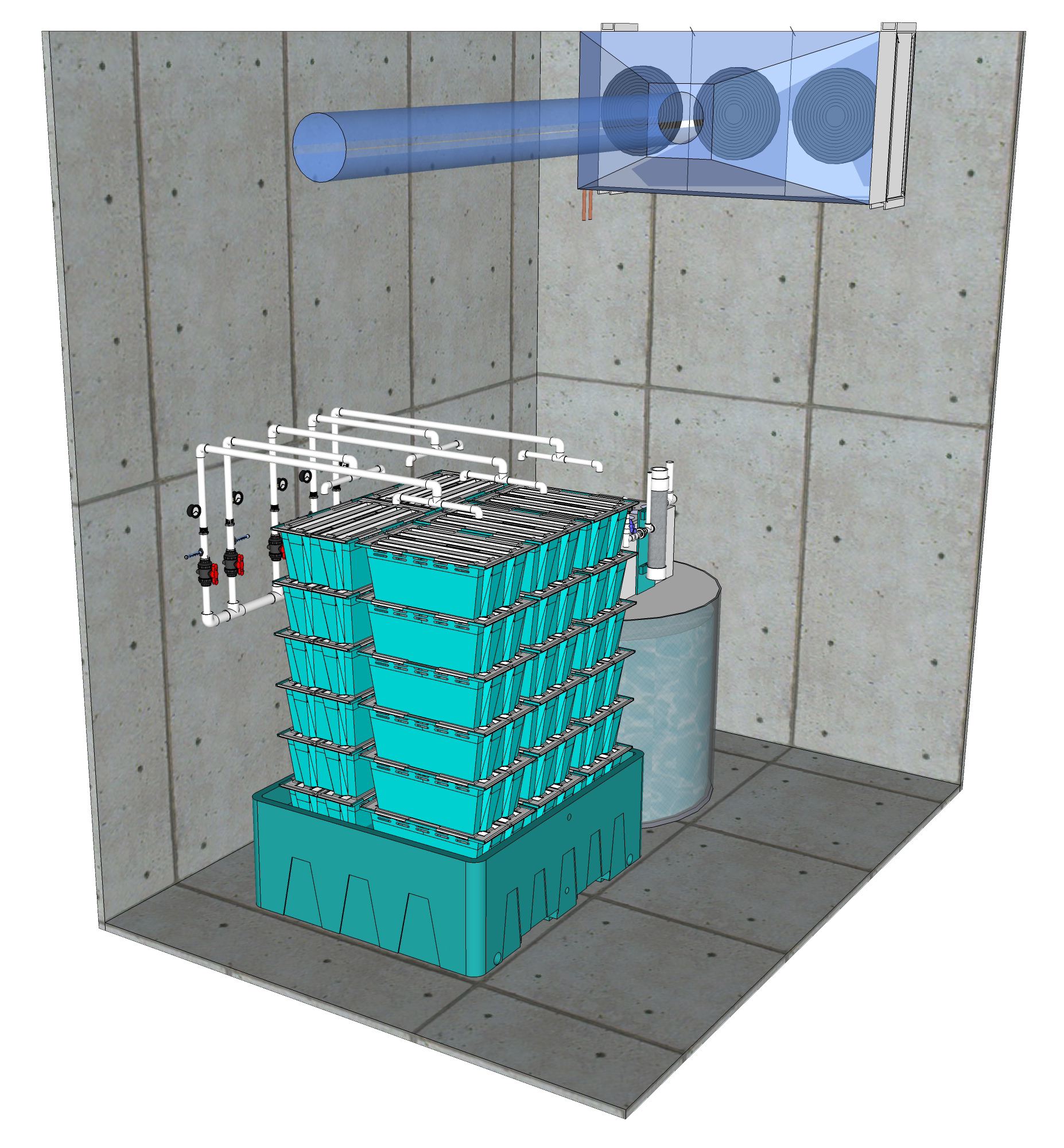 Our 500 lb TS1 System can be transformed into 3,500 lb System when modified to work with Traystor Crate.