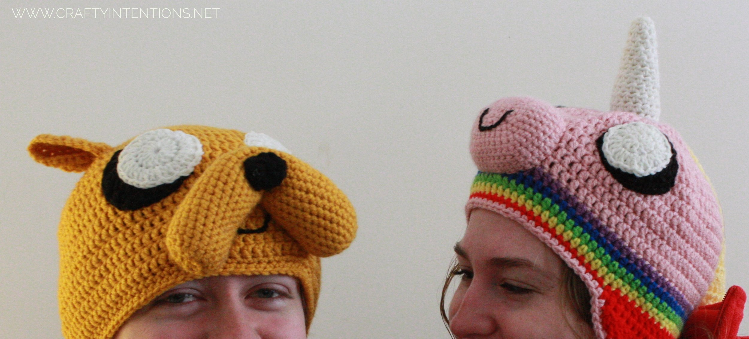 2013 Jake the Dog and Lady Rainicorn Crochet Hats-02.jpeg