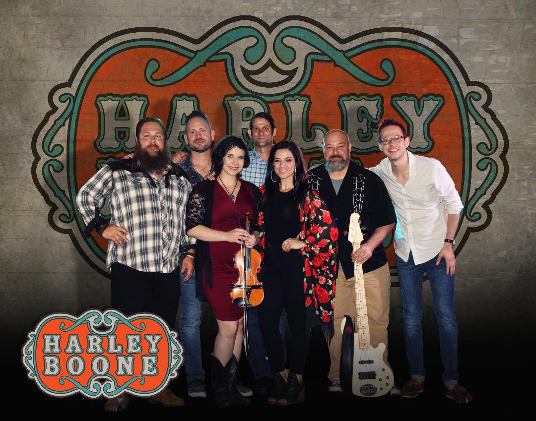 Harley Boone  Named after a blue collar legend in the Tidewater region of the Old Dominion, Harley Boone is dedicated to fueling the world with good music/vibes. So whether you love Country music or want to hear something different from the norm, make sure that you request Harley Boone for your next event. The band is comfortable in both large festival formats and small private gatherings; no matter the size of your event, Harley Boone will coalesce and harmonize to make any event inclusive and intimate. We can promise you that you'll be singing along and dancing all night, to favorites of the past and hits from today.  Harley Boone: A guaranteed down-home, good time!