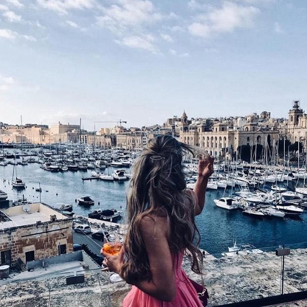 The view 😍  Credit 📷: @verenalilly  #thesheerbastion #senglea #birgu #eventsvenue #malta #maltalife #maltagram #instamalta #weddingvenue #maltesewedding #maltawedding