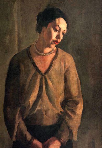 "Amrita Sher-Gil, ""Study of Model (3)"", circa 1933  Image Courtesy NGMA, New Delhi, India"